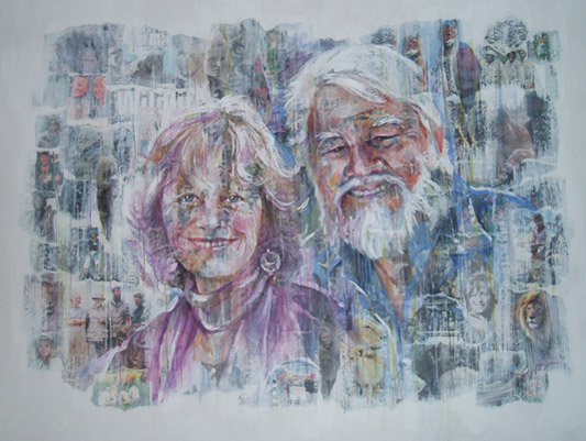 Bill Travers and Virginia McKenna